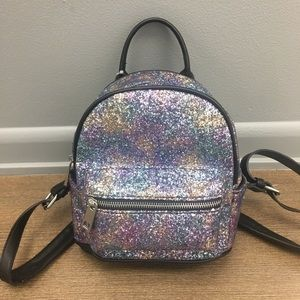 Multi Glitter Backpack Mini